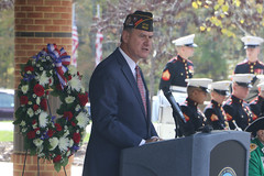 AG delivers keynote address at Quantico National Cemetery Veterans Day Ceremony