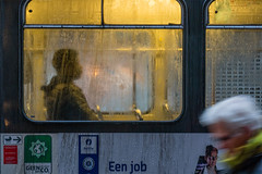 Antwerp colours I (jefvandenhoute) Tags: belgium belgië antwerp antwerpen rain colours city
