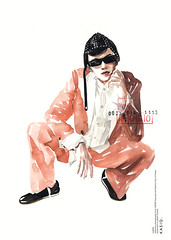 Fashion Illustration (kasiQ) Tags: watercolor fashion drawing illustration kasiqjungwoo fashionillustration fashiondrawing fashionstyle streetfashion painting