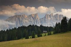 Mountain Hut (Kevin.Grace) Tags: dolomites dolomiti hut mountains italy landscape clouds sunset