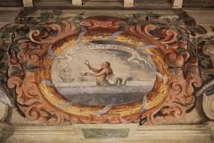 Castello di San Martino in Rio (SergioBarbieri) Tags: sanmartinoinrio castello affreschi frescoes oblectatutoprimae tritone sirena mitologia tritonemarino
