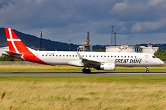 OY-GDA_04 (GH@BHD) Tags: oygda embraer erj195 erj195200lr greatdaneairlines belfastcityairport bhd egac regionaljet aircraft aviation airliner