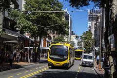 Willis Street - Wellington (andrewsurgenor) Tags: trolleybuses trolleybus trolleycoach trolleybuswellington trolleys trolebús trolejbusowy trolejbus trolle newzealandtrolleybuses obus gowellington nzbus