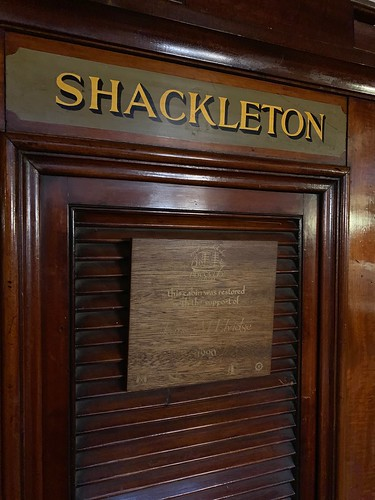 SHACKLETON CABIN ON DISCOVERY