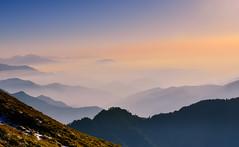山巒(DSC_8384) (nans0410(busy)) Tags: taiwan nantoucounty renaitownship hehuanmountain mountain sunset outdoors scenery landscape cloud 台灣 南投縣 仁愛鄉 合歡山 雪霸國家公園 夕陽