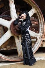 """ Anno 1900 "" 2019 - 103 (fotomänni) Tags: anno1900 fondsdegras steampunkfondsdegras steampunk steampunktreffen steampunkconvention kostüme kostümiert kostüm costumes costumed shooting people menschen gens manfredweis"