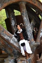 """ Anno 1900 "" 2019 - 107 (fotomänni) Tags: anno1900 fondsdegras steampunkfondsdegras steampunk steampunktreffen steampunkconvention kostüme kostümiert kostüm costumes costumed shooting people menschen gens manfredweis"