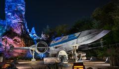 X (mwjw) Tags: galaxysedge starwars disney disneyworld orlando florida mwjw markwalter nikond850 nightshot longexposure hollywoodstudios