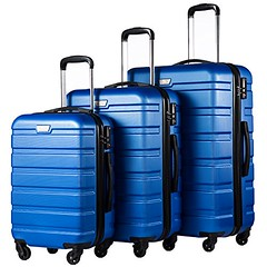 Coolife Luggage 3 Piece Set Suitcase Spinner Hardshell Lightweight TSA Lock 4 Piece Set (Shopping Guide 7) Tags: coolife hardshell lightweight lock luggage piece set spinner suitcase tsa