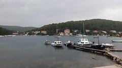 Rainy day in Korcula. (nedjeljko.belic) Tags: rain weather korcula korculaisland boats sea