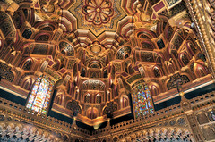 Photo of The Arab Room at Cardiff Castle