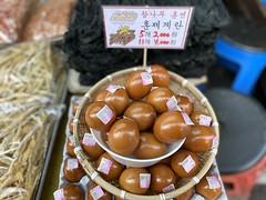 Smoked eggs (Panda Mery) Tags: bangbaedong korea seoul egg