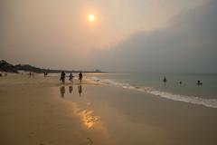Beach in the evening (agasfer) Tags: 2019 australia byron bay pentax k3 sigma1020 sea sand beach