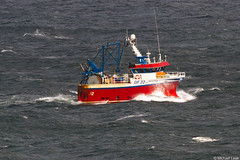 The twin rig trawler Scotia BF32; Moray Firth, Banffshire, Scotland (Michael Leek Photography) Tags: ship boat workingboat workboat trawler twinrig banffshire banff portknockie moray morayfirth scotland scottishlandscapes scottishcoastline scotlandslandscapes scottishshipping fishing fishingindustry fishingboat fishingvessel michaelleek michaelleekphotography