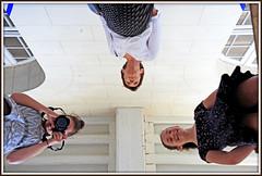 """Le couloir des illusions"" 1993, Felice Varini, Château d'Oiron, Oiron, Deux-Sèvres, France (claude lina) Tags: claudelina france deuxsèvres oiron châteaudoiron curiosmirabilia castle château felicevarini lecouloirdesillusions exposition miroir mirror"