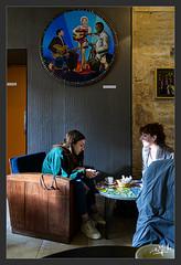 Bar jouxtant le musée des Beaux-Arts / Bar adjoining the Museum of Fine Arts - Saintes (christian_lemale) Tags: saintes nikon z6 bar pub