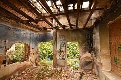Pinturas rupestres. (Elena m.d. 12.7M views.) Tags: urbex decay nikon tokina d5600 1116 2019 new urban grafitti guadalajara ruinas