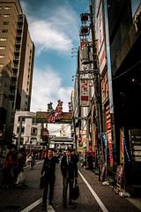 広島流川からお好み村ーFrom Nagarekawa Street to Okonomi Mura Town, Hiroshima City (kurumaebi) Tags: hiroshima fujifilm 富士 広島市 フジフイルム street city japan 街 広島 お好み村 流川 富士フイルム xt20