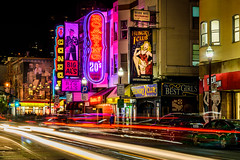 Streets Of San Francisco (drasphotography) Tags: san francisco california usa drasphotography nightshot night nacht broadway lighttrails long exposure travelphotography reisefotografie travel urban streetphotography cityscape