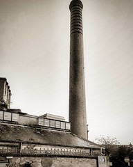 Chimney stack on the old brewery (Chris Atkins65) Tags: blackandwhite brewery chimneys weymouth dorset jurassiccoast devenish