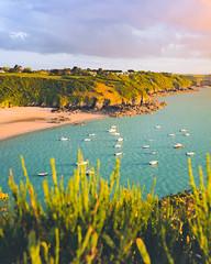 Côte d'Emeraude (ThibaultPoriel) Tags: saintcastleguildo bretagne coucherdesoleil baie fresnaye turquoise light côtesdarmor côte demeraude emeraude
