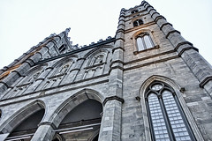 Look Up (gabi-h) Tags: notredame basilica montreal church architecture view gabih windows windowswednesday archways stone gothic
