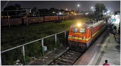 Kolkata Station (Welsh Gold) Tags: 22708 wap4 kolkata station calcutta west bengal india