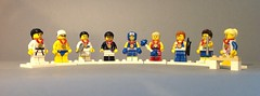 Serie Olimpica! (Settebello21) Tags: lego olimpiadi serie collezionabili londra sport