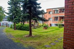 Уютный двор в Куопио
