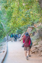 Zion National Park-06649 (gsegelken) Tags: gary lorrie patty riversidewalk springdale usa utah virginriver zionnationalpark