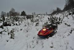 """ daylight "" at 14.00 (KvikneFoto) Tags: snø snow winter vinter lynx snøskuter snowmobile nikon1j2"