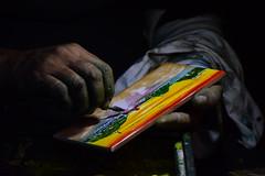 las manos del artista (gabrielg761) Tags: manos artista color pintor colores pinceles