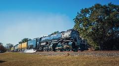UP 4014 (lonestarbackroads) Tags: bigboy leoncounty leoncountytexas leoncountytx railroad texas train traintracks tx unionpacific unitedstates us