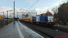 Volkerrail 203-4 + DM'90 3440 + 3428 + 3434 + 3436, Deventer (Jona Brans) Tags: volkerrail v100 2034 dm90 overbrenging nijmegen houtrakpolder deventer station 3440 3428 3434 3436 trein train zug züge trains treinen