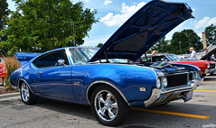 1969 Oldsmobile 442 (Chad Horwedel) Tags: 1969oldsmobile442 oldsmobile442 oldsmobile olds 442 classic car turningbacktime2019 sycamore illinois