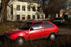 Cars - Tavria (dmitriy.marichev) Tags: cars vintage leica m262 leicamtyp262 262 oldschhol garage youngtimer city street dmitriymarichev tavria zaz