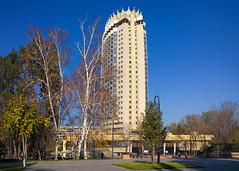 Kazakhstan Hotel (monorail_kz) Tags: almaty kazakhstan kazakhstanhotel centralasia city autumn november 2019 sightseeing architecture building cityscene nokialumia1020 panorama