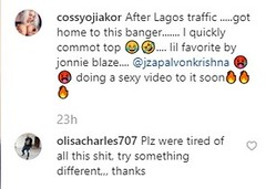We Are Tired, Do Something Different – Fans rebuke Cossy Ojiakor Over New Video (pluxhouse) Tags: ifttt wordpress