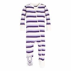 Burt's Bees Baby - Baby Girls Sleeper Pajamas, Zip Front Non-Slip Footed Sleeper PJs, 100% Organic Cotton (Shopping Guide 7) Tags: baby bees burts cotton footed front girls nonslip organic pajamas pjs sleeper zip