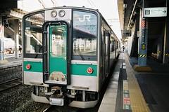 新白河行き 701系  For Shin-Shirakawa (しまむー) Tags: pentax mz3 smc a 28mm f28 kodak gold 200 北海道&東日本パス 普通列車 local train trip east japan