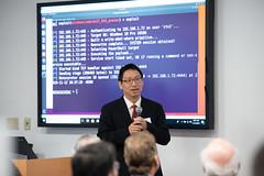 Cybersecurity War Room Ribbon Cutting (hofstrauniversity) Tags: 111219 cybersecurity war ribbon cuttingcuttingcv starr