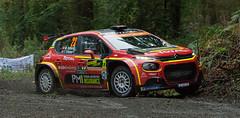 Citroen C3 R5 - Ostberg (rallysprott) Tags: sprott wdcc rallysprott 2019 wales rally gb penmachno forest 2 rallying motor sport car nikon d7100 shakedown stage citroen c3 r5 ostberg