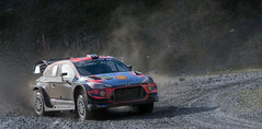 Hyundai i20 Coupe WRC - Mikkelson (rallysprott) Tags: sprott wdcc rallysprott 2019 wales rally gb penmachno forest 2 rallying motor sport car nikon d7100 hyundai i20 coupe wrc mikkelsen