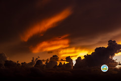 Nubes (insivumeh.) Tags: guatemala insivumeh meteorología nubes cielos cielosguatemaltecos naranja climatología celajes atardecer
