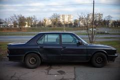 Cars - BMW E28 (dmitriy.marichev) Tags: cars vintage leica m262 leicamtyp262 262 oldschhol garage youngtimer city street dmitriymarichev bmw5seriese28 bmw e28