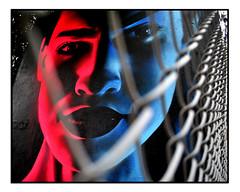 LONDON STREET ART by GRAFFITI LIFE (StockCarPete) Tags: graffitilife fence streetart londonstreetart urbanart graffiti londongraffiti shoreditch shoreditchart london uk redblue