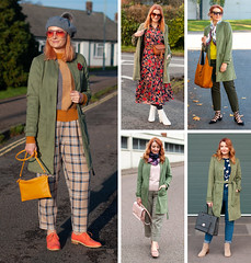 5 Ways to Wear an Olive Green Longline Jacket | Not Dressed As Lamb, Over 40 Fashion and Style Blog (Not Dressed As Lamb) Tags: winter autumn fall aw19 fw19 outfit ootd fashion style blogger olive green khaki