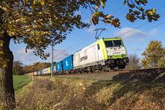 Muessen Feldweg Captrain 185 650-9 Container (Wolfgang Schrade) Tags: captrain br185 1856509 containerzug container kbs100 müssen zug güterzug eisenbahn