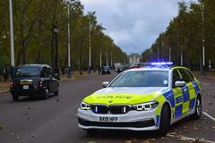 BX19 HFF (S11 AUN) Tags: london metropolitan police bmw 530i estate touring anpr interceptor traffic car roads policing unit rpu 999 emergency vehicle metpolice bx19hff
