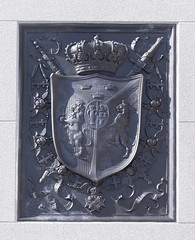 The Royal Coat of Arms (wandering tattler) Tags: coatofarms emblem threecrowns crown sweden royalty monarchy stockholm 2019